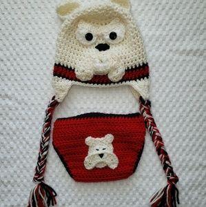 Other - Bulldog Crochet Set